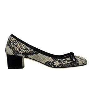 PAUL MAYER fresh size 9 block heel animal print